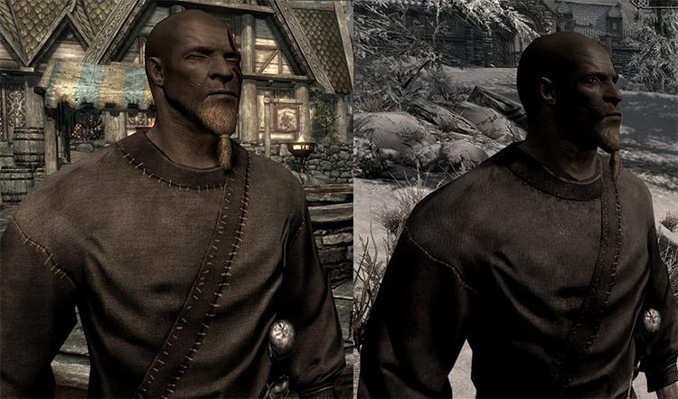 Improved NPC Clothing mod