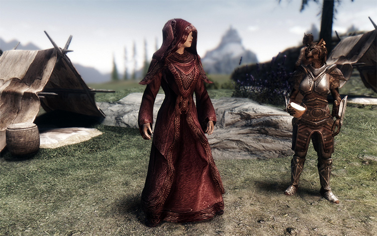 Opulent Outfits mage robes mod
