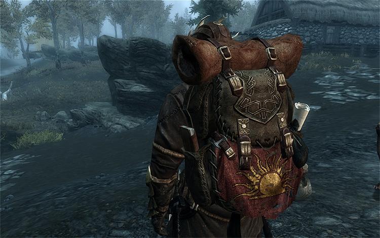 Mage Backpack mod