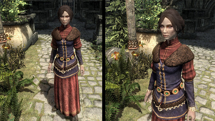 Colovian Noble Clothes mod