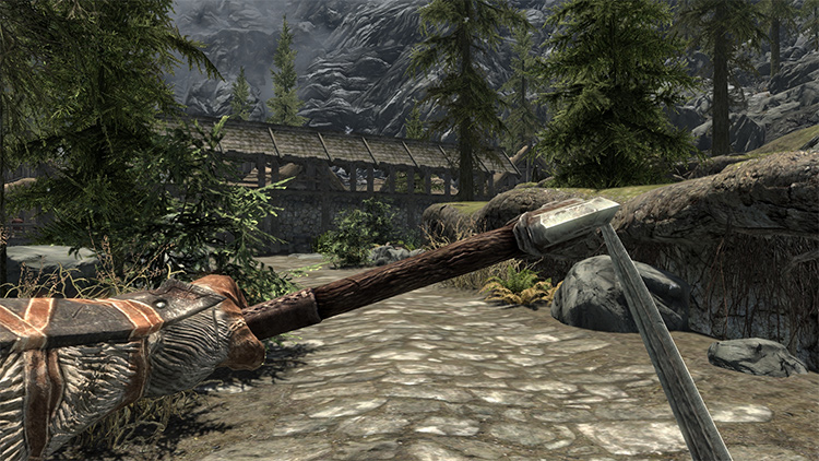 Dual Wield Parrying mod