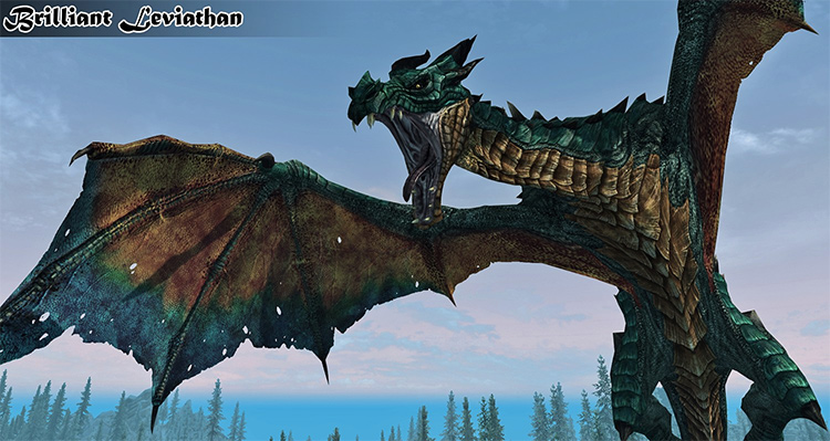 Bellyaches New Dragon Species in Skyrim