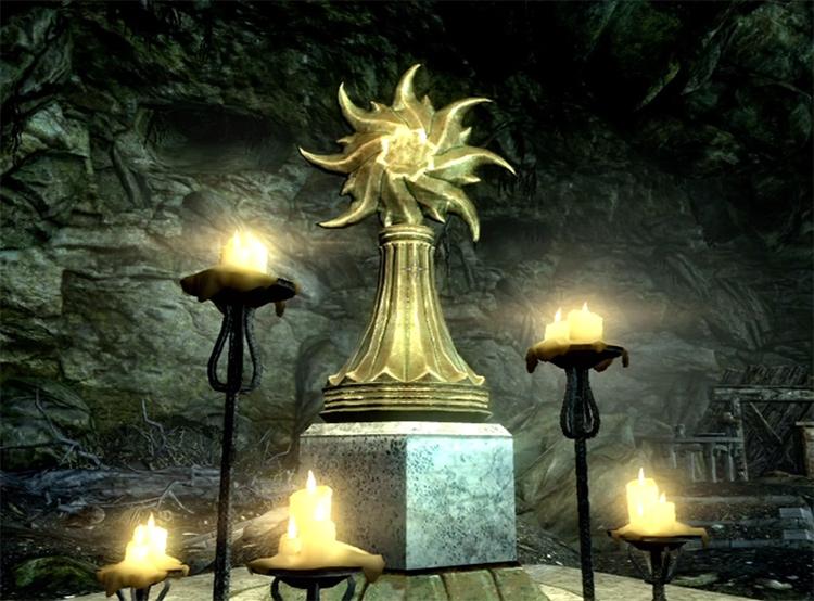Shrine of Auriel skyrim