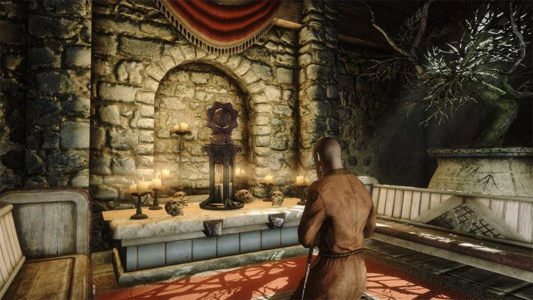 Shrine of Arkay in Skyrim