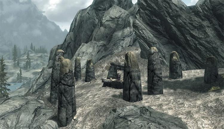 Shrine of Akatosh in Skyrim