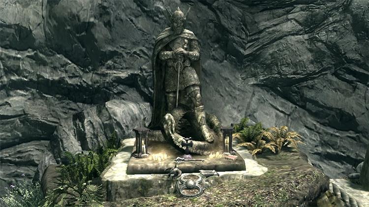Shrine of Talos in Skyrim