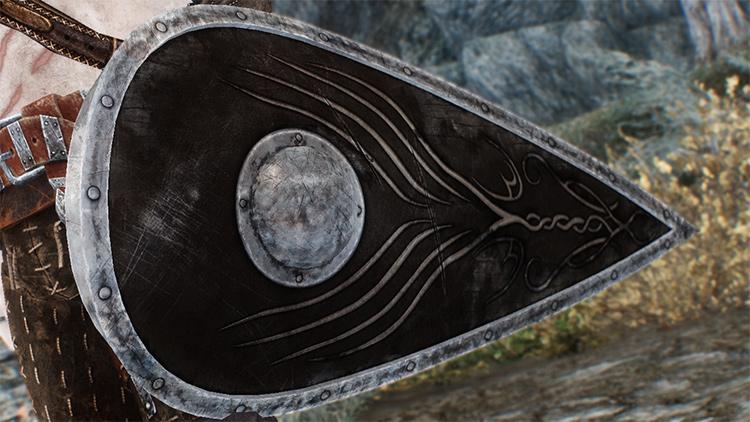 Ethereal Oak Shield for Skyrim