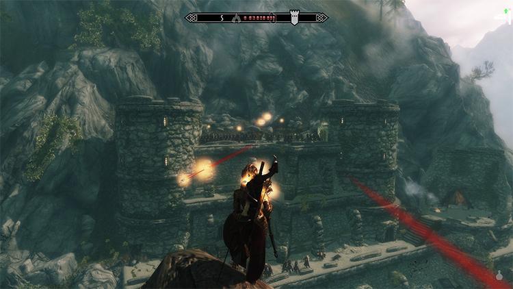 Difficult Archery mod