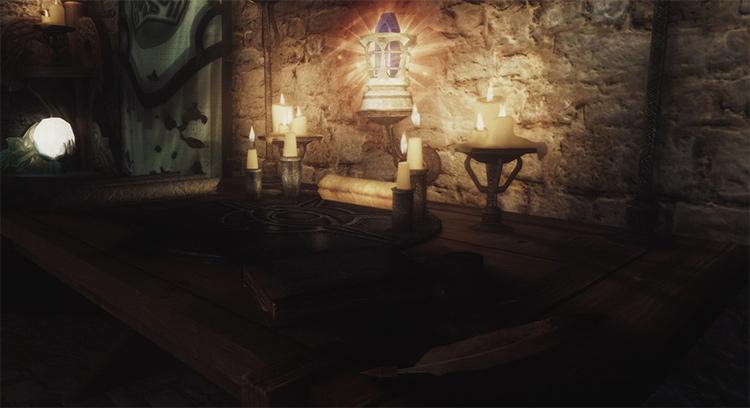 Skyrim Scroll Crafting mod
