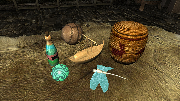Craftable Gifts for Children mod
