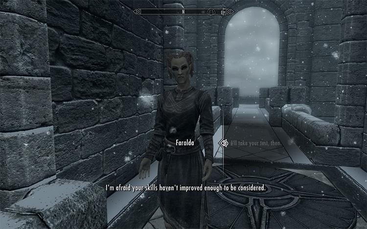 Winterhold Entry Requirements Skyrim
