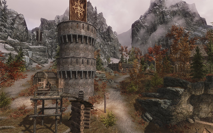 Glorious Fort Dawnguard mod