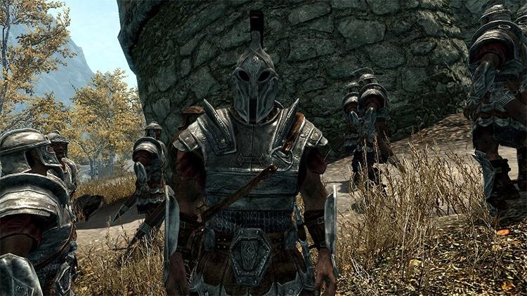 Imperial Legion Armor Skyrim mod