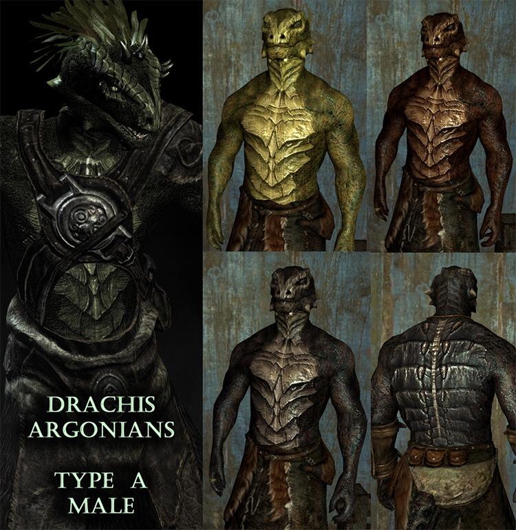 Drachis Argonians Mod
