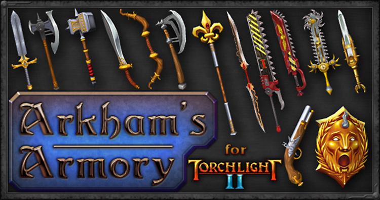 Arkham's & Ripper's Armory mod