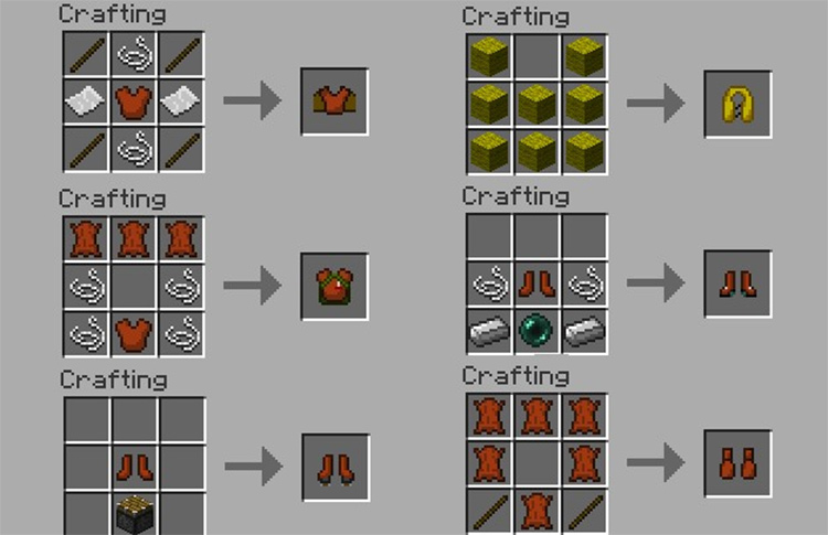 Armor Movement Minecraft mod