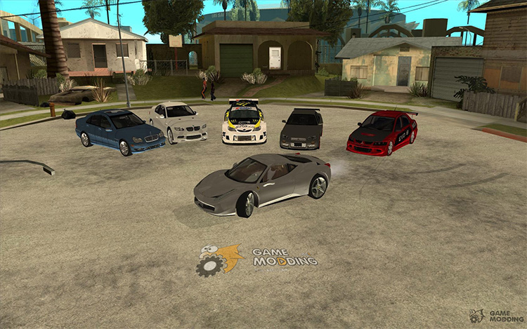 Car Pack for San Andreas