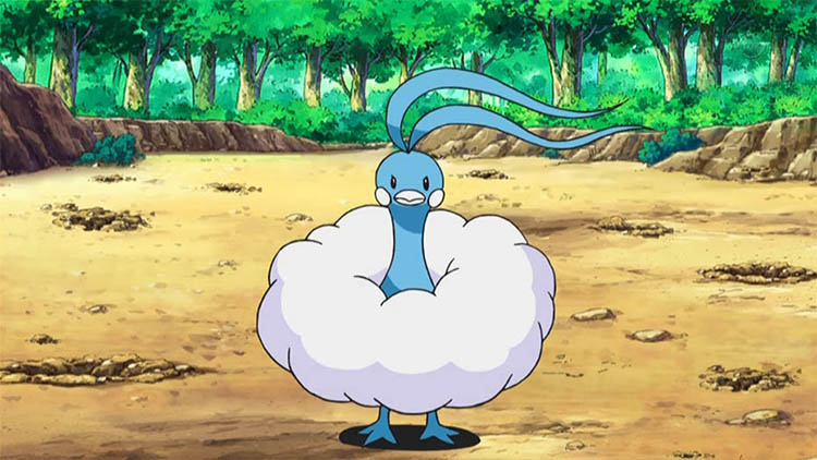 Altaria in the anime