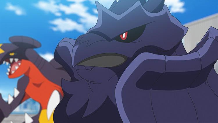 Corviknight in the anime