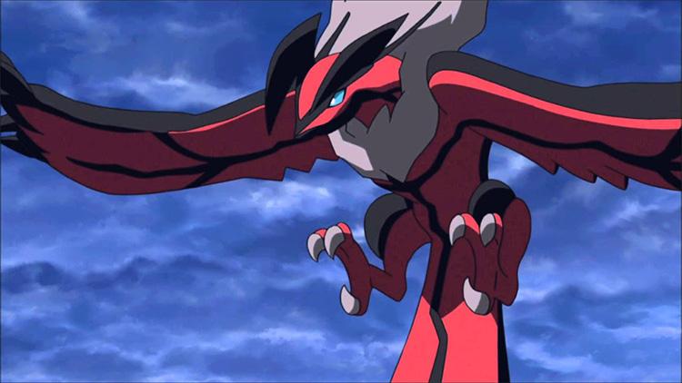 Yveltal in the anime