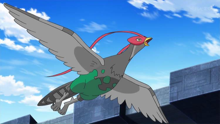 Unfezant in the anime