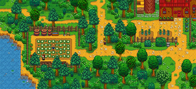 Stardew Valley Expanded Mods