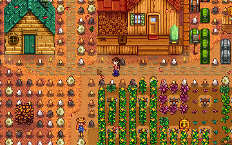 Farm Type Manager Mod