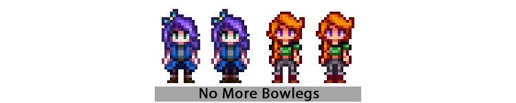 No More Bowlegs Mod