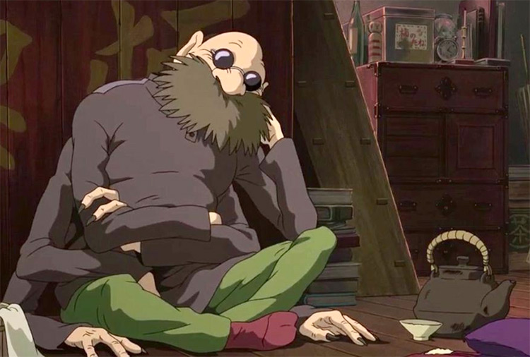 Kamaji in Spirited Away