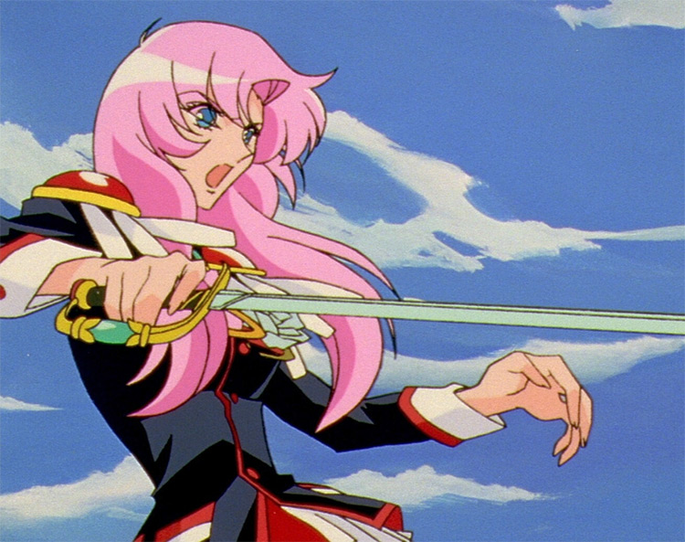 Utena Revolutionary Girl in anime