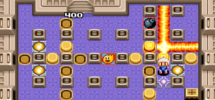 Bomberman 2 screenshot