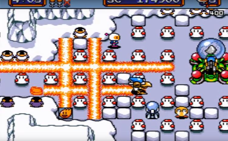 Mega Bomberman (1994) Gameplay