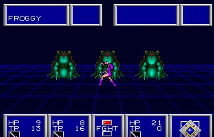 Phantasy Star II (1989) Mega Drive Longplay