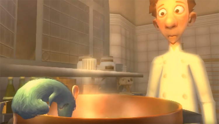 Ratatouille (2007) PC Walkthrough