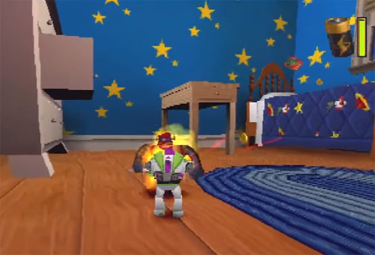 Toy Story 2: Buzz Lightyear to the Rescue (1999) PS 1 Gameplay