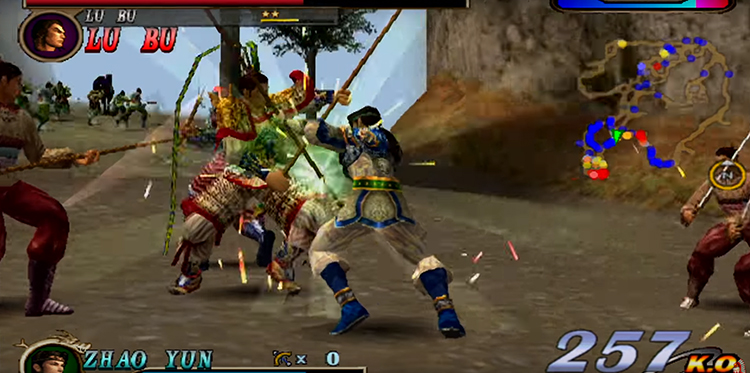 Dynasty Warriors 2 (2000) Playstation 2 Playthrough