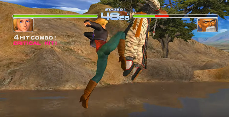 The Great Stages of Dead or Alive 2 Ultimate (2004)
