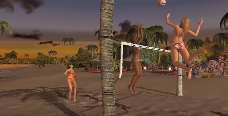 Dead or Alive Xtreme Beach Volleyball (2003) Xbox