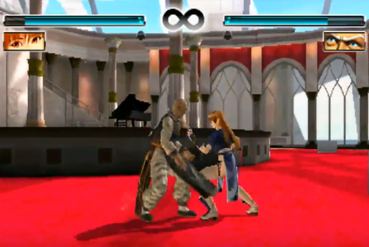 Dead or Alive: Dimensions (2011) Gameplay Chapter 1