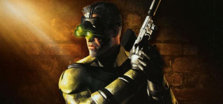 Splinter Cell game boxart cover