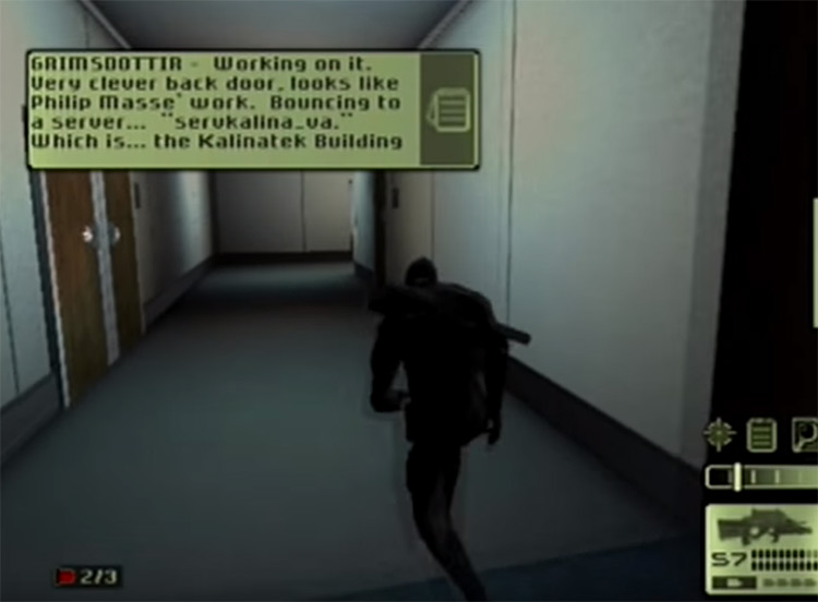 Splinter Cell 2002 gameplay