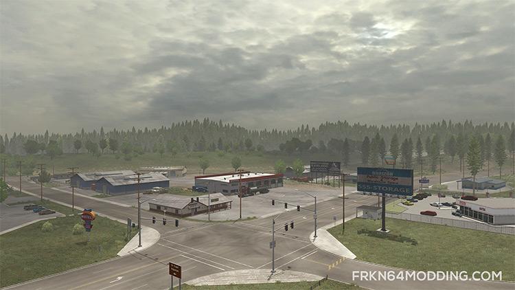 Realistic Graphics Mod American Truck
