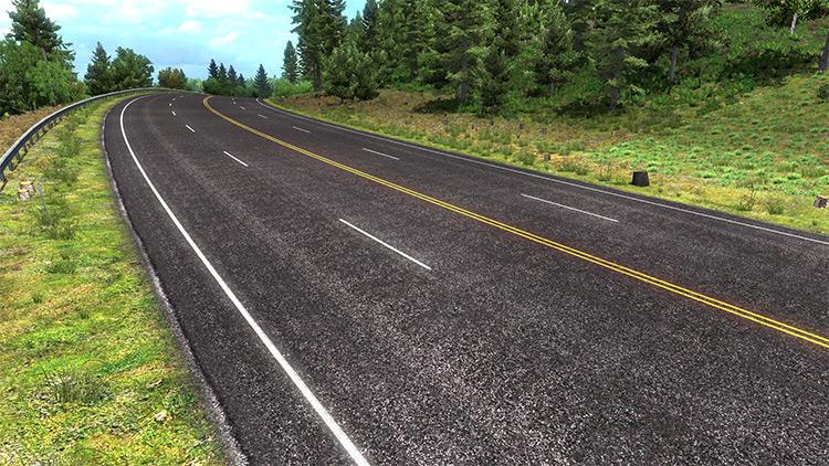Realistic Roads v3.2 American Truck Simulator