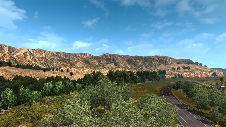 New Mountain Textures mod
