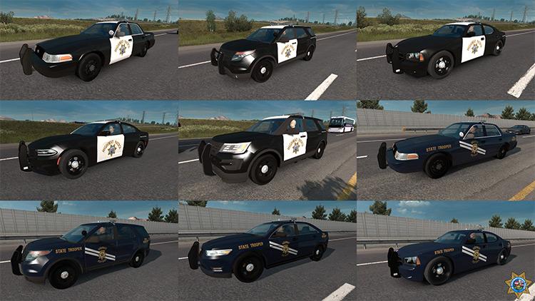 State Highway Patrol ATS mod