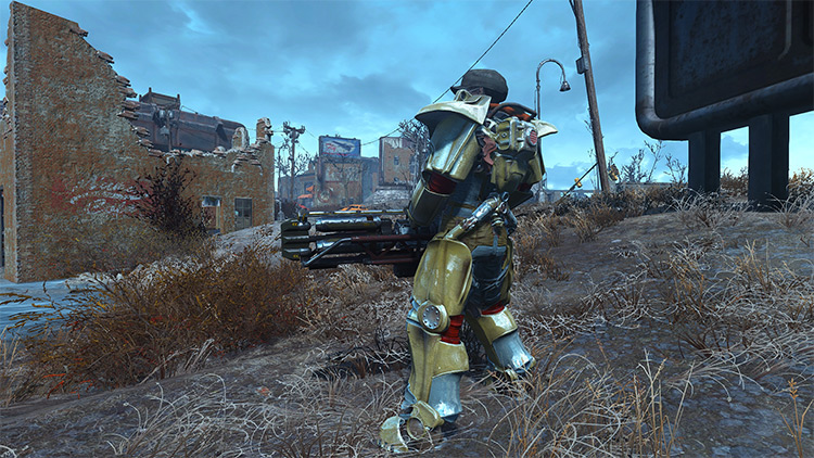 Cross Pre-War Cybernetics Fallout 4