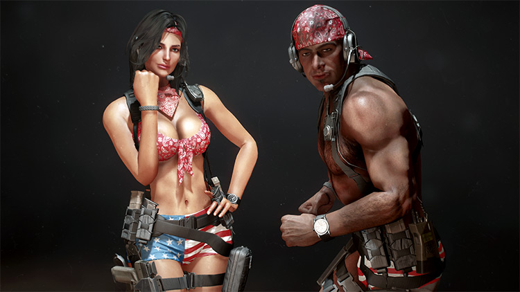 Tactical Combat Swimwear Fallout4