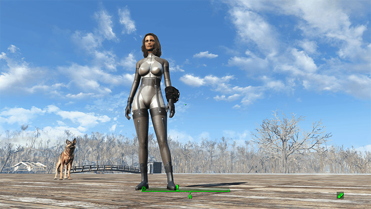 MGS Beauty Beast Corps Armor for FO4