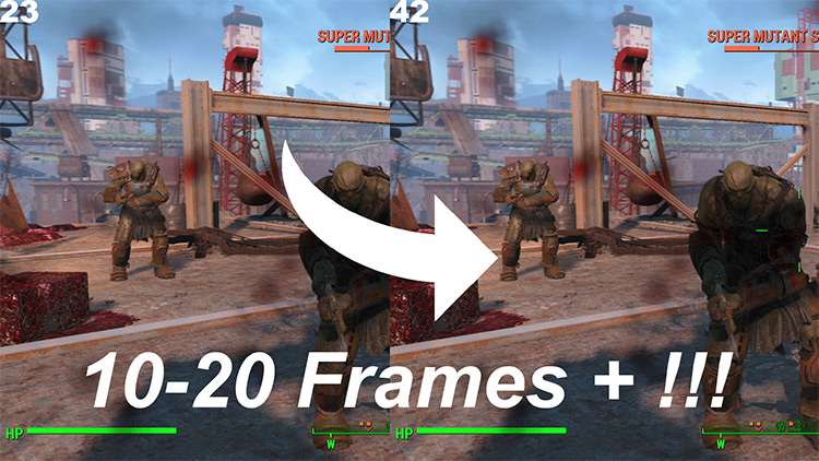 FPS and Performance Fix FO4 mod
