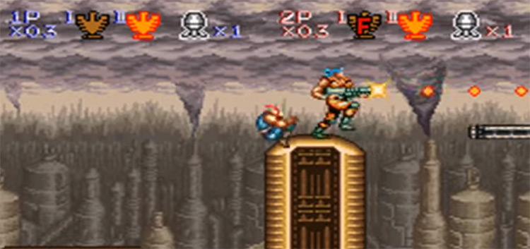 Contra III Alien Wars SNES